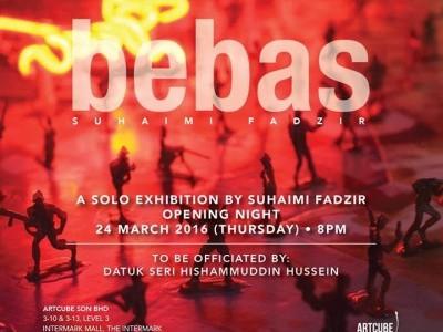 BEBAS Solo Exhibition by SUHAIMI FADZIR