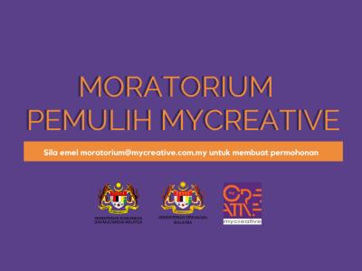 PEMULIH - Bantuan Moratorium untuk Usahawan MyCreative