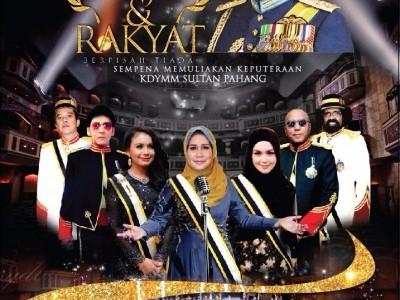 Raja dan Rakyat Berpisah Tiada -Exhibition and Concert