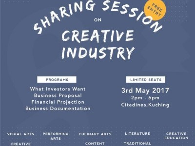 SHARING SESSION ON CREATIVE INDUSTRY