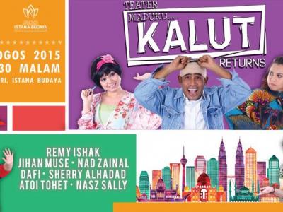 Remy Ishak in Maduku Kalut Returns at Istana Budaya next month