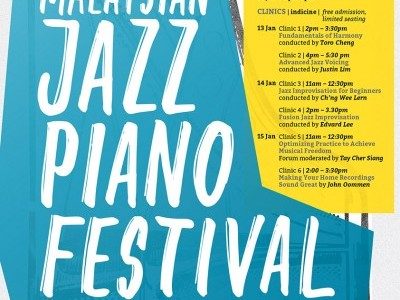 The 4th Malaysian Jazz Piano Festival