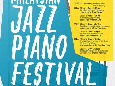 The 4th Malaysian Jazz Piano Festival