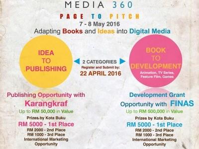 Page to Pitch (P2P) by Perbadanan Kota buku