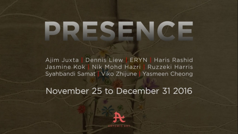 Presence - A group exhibition to close out 2016